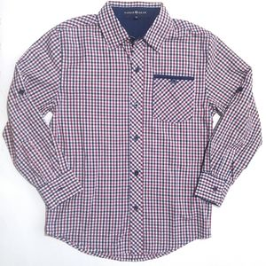 🔴🔵LikeNew🔵🔴 Faded Gear Button Down Shirt